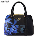 Famous Designer Women's Handbag 2017 Famous Brands Women Bags Women Messenger Bags Floral Print Vintage Bags Ladies Shoulder Bag