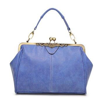 Blue Retro Handbag