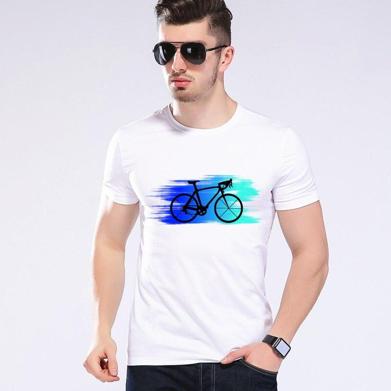 2018 새로운 도착 유행 자전거 디자인 남자의 T 셔츠 3D 소년 차가운 정상 인쇄 된 여름 T- 셔츠 Moe Cerf J9-18 #