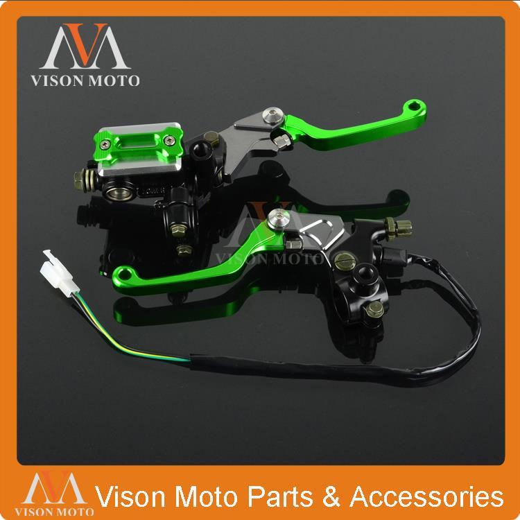 Гибкий рычаг тормоза главного цилиндра + кабель сцепления окунь для Kawasaki KLX250 KLX150 KLX450 KDX220 KDX250 эндуро Байк