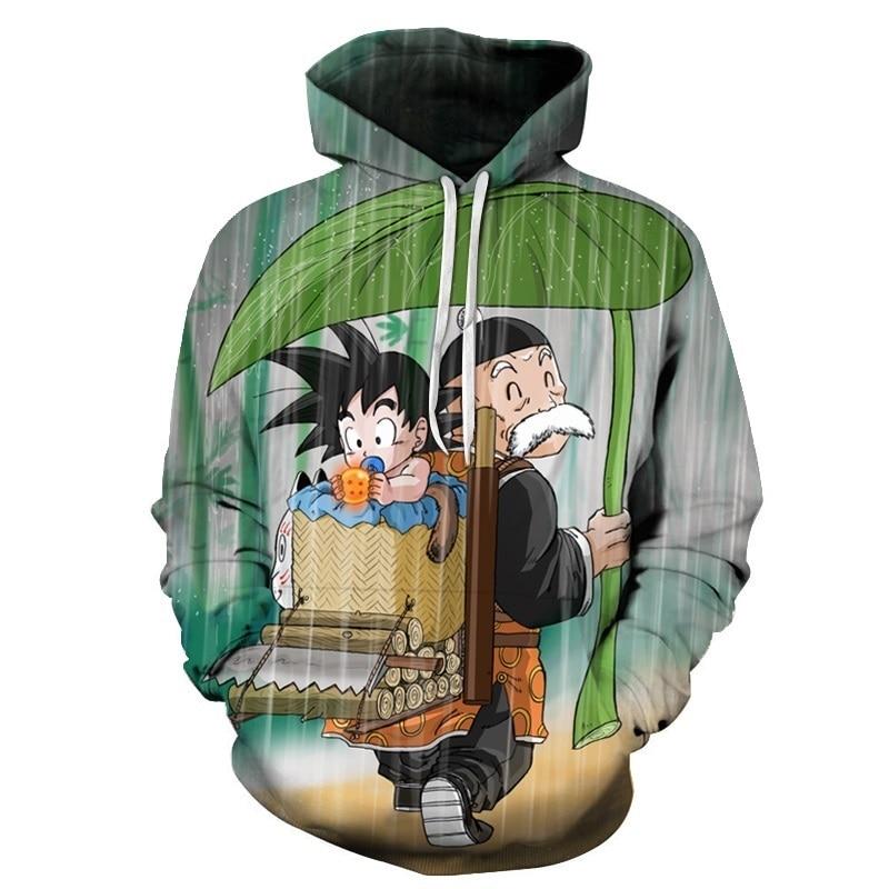 3D Hoodie Dragon Ball Sweatshirts (1)