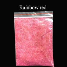 Collorful glitter rainbow red applied in printing ink paint cosmetics plastic leather handicrafts ornaments toys coating