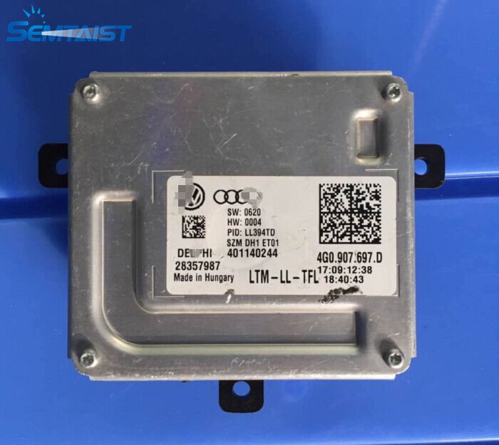 semtaist OEM 4G0 907 697 D 4G0907697DLED headlight CONTROL UNIT used free shipping post