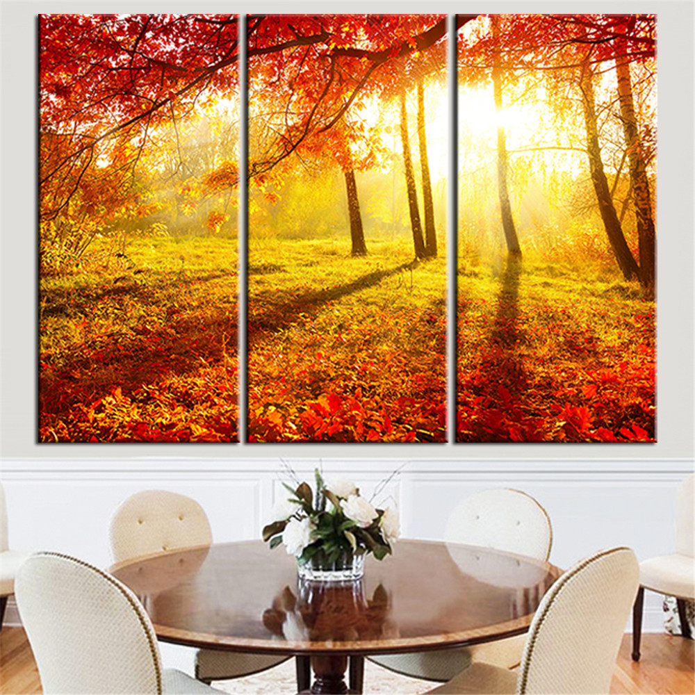 Online Shop Modern Canvas HD Prints Poster Home Decor Wall Art 3 ...