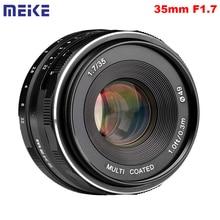 Meike MK 35 1.7 35mm F1.7 mise au point manuelle objectif principal APS C pour Canon EOS Mount M100 M10 M6 M5 M3 M2 appareils photo sans miroir