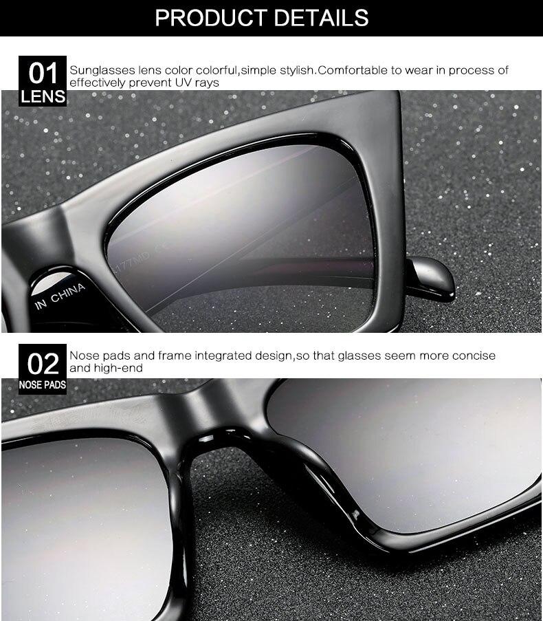 HTB1qWb7dzgy uJjSZKPq6yGlFXa9 - AFOFOO Fashion Women Sunglasses Cat Eye Glasses Lady Brand Designer Retro Sun glasses UV400 Shades Eyewear Oculos de sol