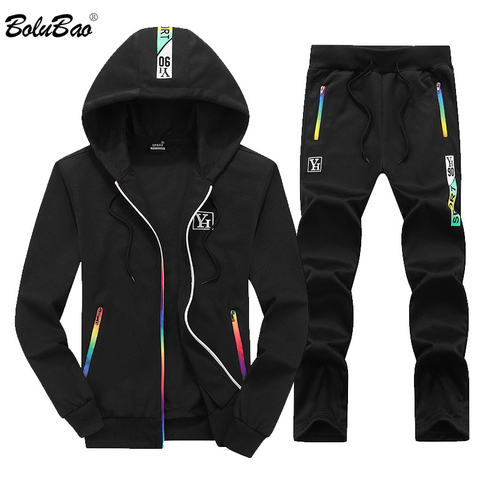 BOLUBAO Fashion Men Set Sportswear Hooded + Pants Sets Autumn Male Tracksuits Sweatshirts & Sweatpants Track Suits Two Piece Set Pakistan