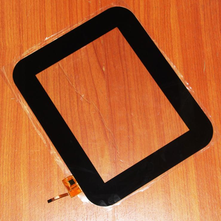 New 8 Capacitive Screen Touch Digitizer Glass Panel Repair Parts For RS8F200_V2.0 new touch screen glass panel for v708 v708 pow2 repair