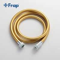 Tuyau Flexible de haute qualité 1.5m or PVC tuyau de douche Flexible tuyau de plomberie Flexible pour tuyau de douche à main