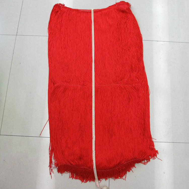 2Meter/Lot 50CM-100CM Polyester Tassel Fringe Lace Trimming For Diy Latin Dress Stage Clothes Fabric Accessories SM427