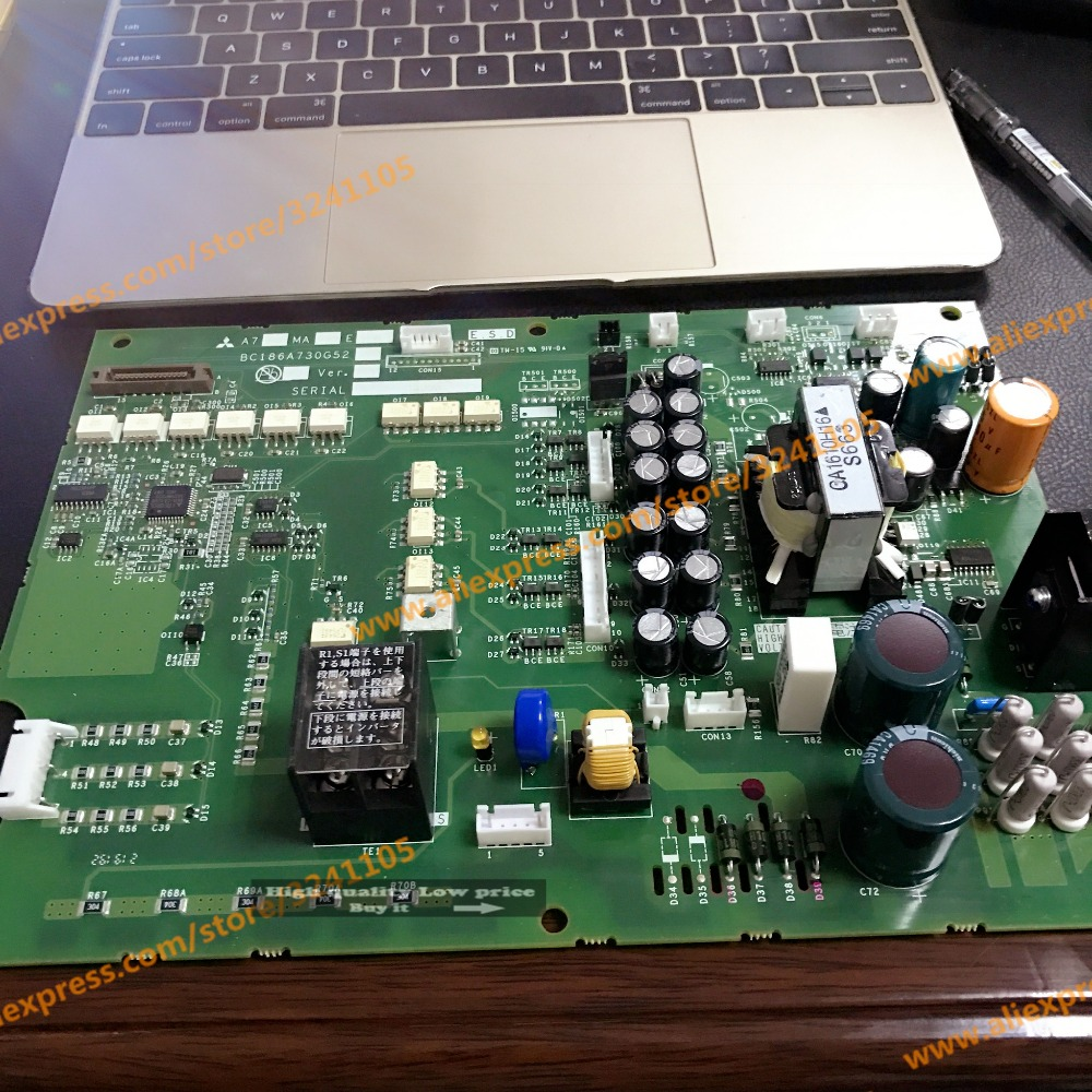 Second Hand Test Good BC186A730G52 F740-55K Power Drive Board  MODULE