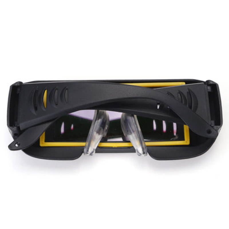Auto Darkening DIN11 Durable Automatic Light Change Anti-Glare Eyes Shield Welding Helmet