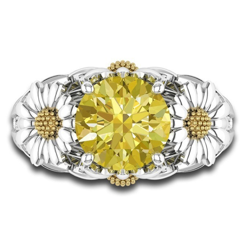 carat img rings antique platinum cluster shape diamond ring circa image engagement daisy in floral