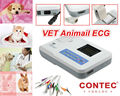 CE CONTEC ECG100G Single Channel 12-Lead Portable ECG Machine For Veterinary vet