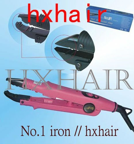 Freeshipping - 20pcs No.1 Adjust-Temp Hair Extension Fusion Connector / Hair Extension Fusion Iron / Hair Fusion Iron
