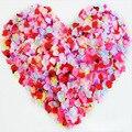 2000 unids/lote Petalas Pétalo de Rosa Decoraciones de La Boda Flores Artificiales Aumentaron Petalos De Pétalos de Rose Accesorios De Boda Petali