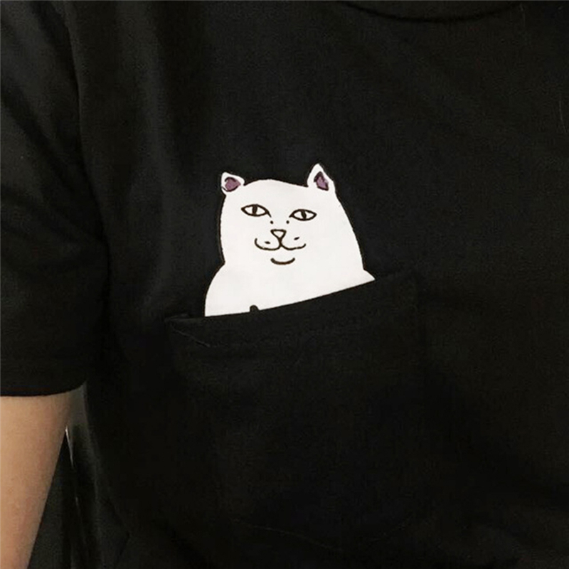 HTB1qWc1QXXXXXc8apXXq6xXFXXXa - Pocket Cat T-shirt