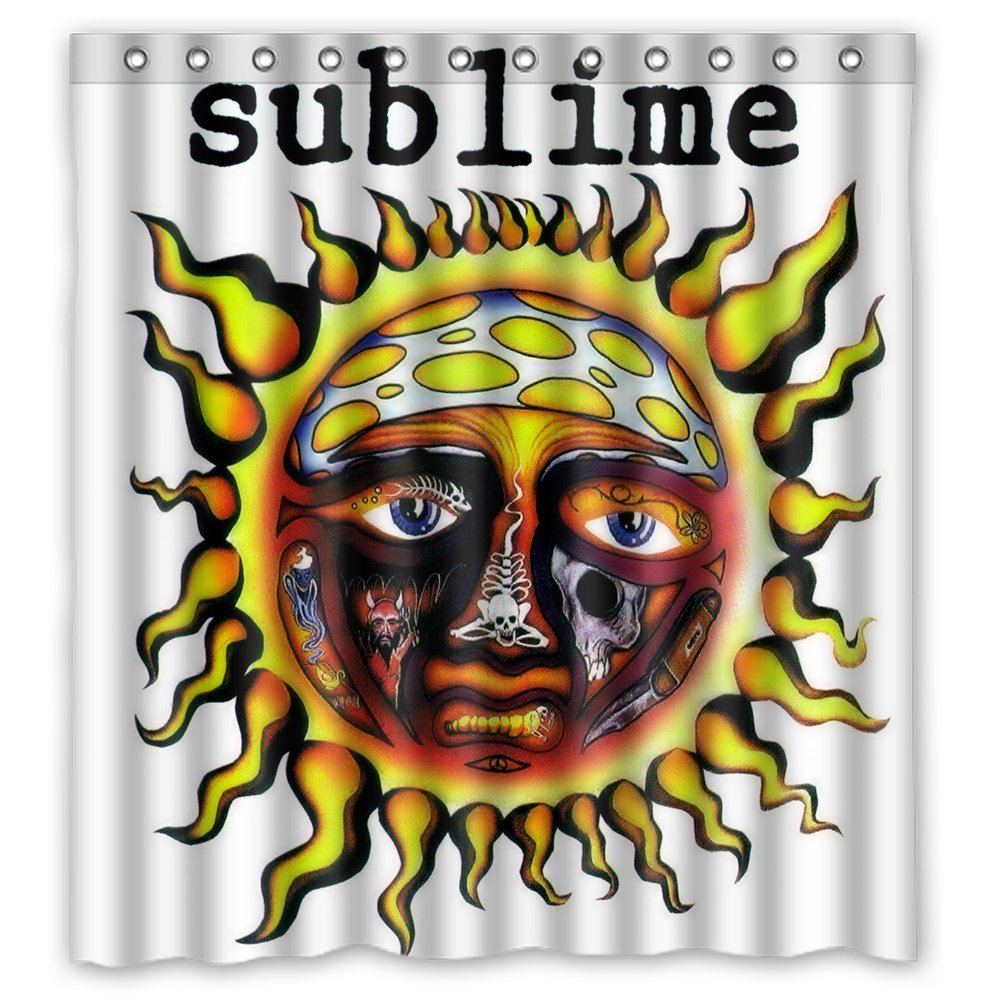 60 x72 Sublime 40 Oz To Freedom Shower Curtain Waterproof Fabric Shower Curtain