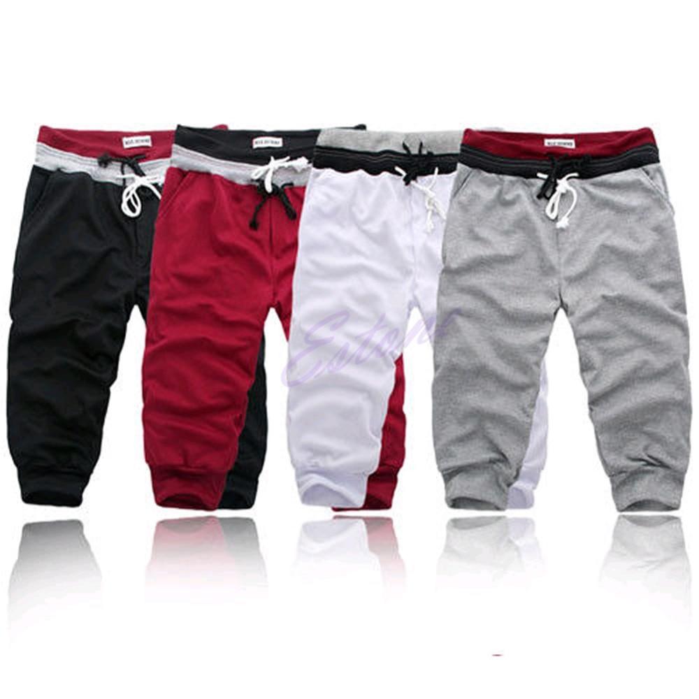 Dance Baggy Jogger Casual Men Harem Trousers Shorts Slacks