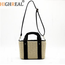 Beach Bag Straw Totes Bag Summer Bags Women Handbag Braided 2018 New High Quality Rattan Bag J202