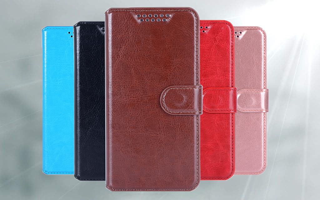 Wallet Case For Philips Xenium V387 Cover PU Leather Luxury Magnetic fashion phone shell Book Card Slots image