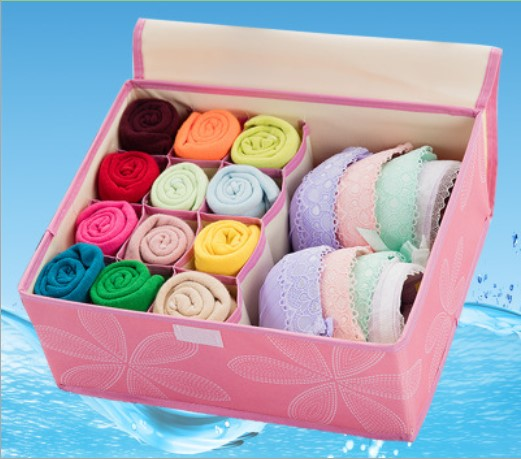 50-1 caja de almacenaje para la ropa interior sujetador bragas - Organización y almacenamiento en la casa