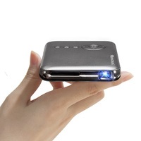 QINTAIX Mobile Projector, Android Operating System,HDMI Input, Auto Keystone Correction 100 Ansi Lumens,5Ghz WiFi +Bluetooth 4.0