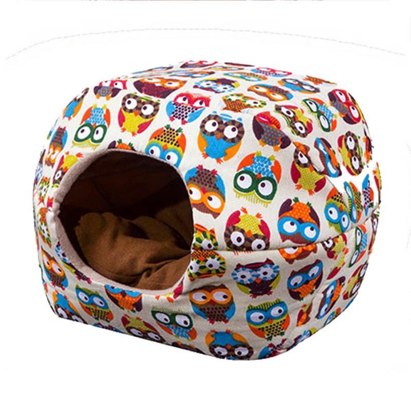 Waterproof Cotton Pet Cat House Cute Winter Warm Cat Yurt Bed