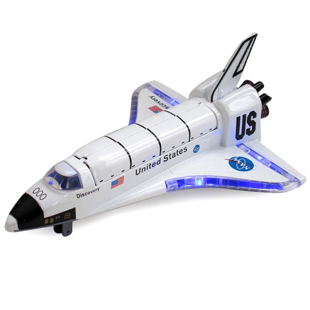 Модель космического корабля Космический Шаттл модель космического аппарата белая развлекательная коллекция детская комната Новинка Декор игрушка подарок