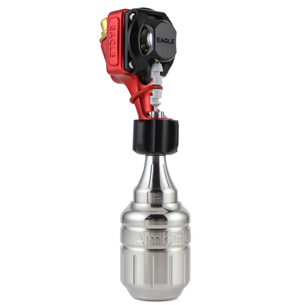 Eagle Cartridges Tattoo Machine Red Japan Motor For Tattoo Artist Free Stainless Steel Cartridge Grip Free RCA CordEagle Cartridges Tattoo Machine Red Japan Motor For Tattoo Artist Free Stainless Steel Cartridge Grip Free RCA Cord