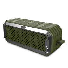 ZEALOT S6 Impermeables Altavoces Bluetooth Inalámbricos Portátiles Banco de Potencia con Una Función de 5200 mAh de La Batería, Controladores duales, Subwoofer, Aux