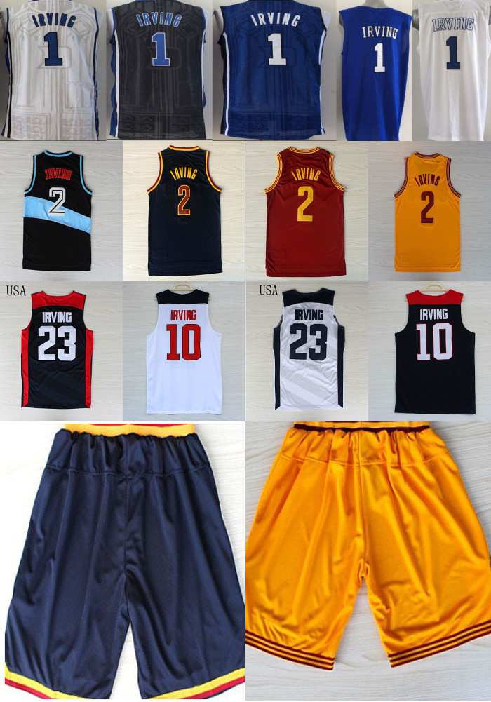 kyrie irving jersey and shorts