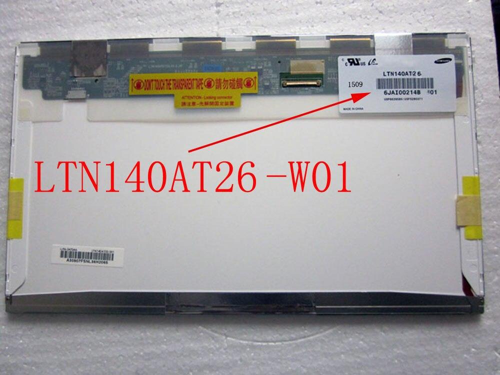LTN140AT26-W01 LTN140AT26 W01 40PINS LCD Screen Panel Original 1366*768 ltn140at26 w01 ltn140at26 w01 40pins lcd screen panel original 1366 768