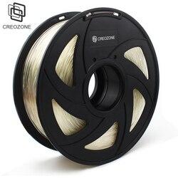 CREOZONE أعلى جودة العلامة التجارية 3D طابعة خيوط 1.75 1 كجم PLA ABS الخشب TPU PetG PP PC المعادن البلاستيك خيوط المواد ل RepRap