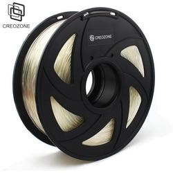 Filamento de impresora 3D de marca de calidad superior CREOZONE 1,75 1 KG PLA ABS madera TPU PetG PP PC filamento de plástico de Metal materiales para RepRap