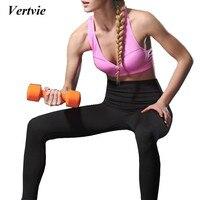 Vertvie New Arrival Women Sport Bra Top Running Fitness Sportswear Breathable Gym Yoga Bra Push Up