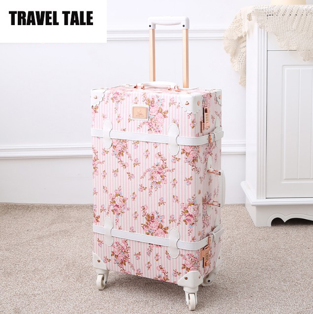 Vintage Floral Suitcase Promotion-Shop for Promotional Vintage ...