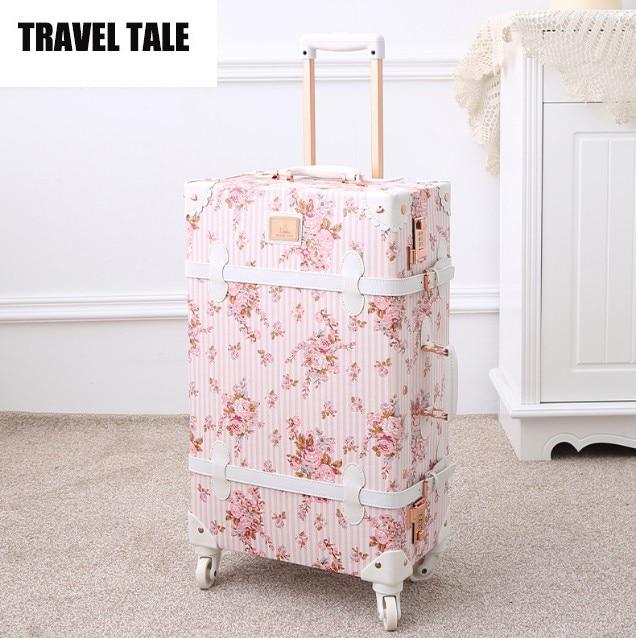 Online Get Cheap Floral Vintage Suitcase -Aliexpress.com | Alibaba ...