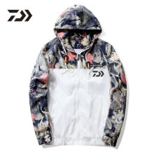 Daiwa Fishing Clothes Fast Dry Fishing Garments Out of doors Sport Dawa Fishing Shirts Mens Breathable Camouflage Fishing Jackets
