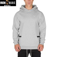 New Newest Mens Cotton Hooded Sweatshirt Autumn Winter Fitness Workout Hoodies Joggers Brand Clothing Sportswear Man