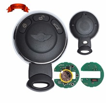 Keyecu Chargeable Remote Key Fob 3 Button 868Mhz ID46 Chip for BMW Mini Cooper 2007-2014