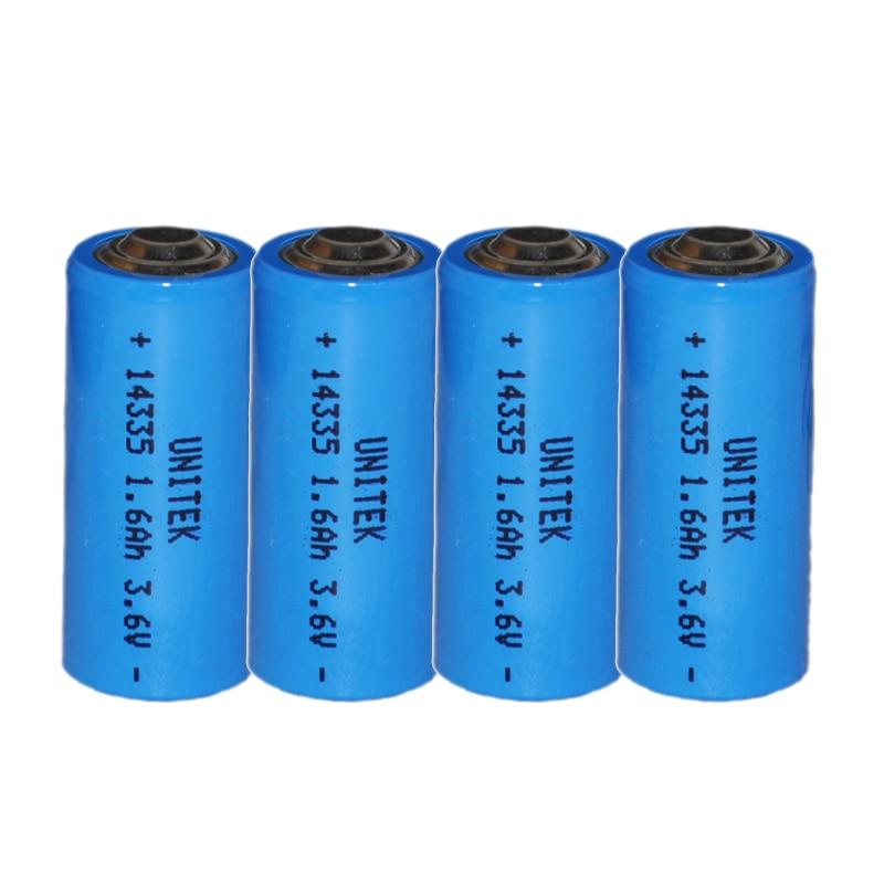 США 10 шт. 3,6 В ER14335 liSOCL2 литиевая батарея 2/3AA ячейка 1600 мАч PCL сухая Первичная батарея Замена для TADIRAN TL-4955