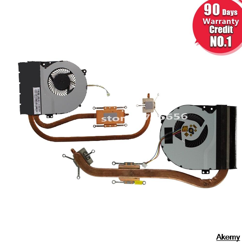 CPU Fan Cooling Radiator Heatsink For ASUS X550 X550vc  X550V X550C X450 X450C X450V A450C K552V A550V  Laotop