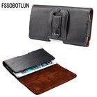 FSSOBOTLUN,For ZTE Majesty Pro Plus LTE/ Maven 3/ Nubia M2/ Nubia M2 Lite Phone case Leather Case Cover Clip Belt Holsters Bag