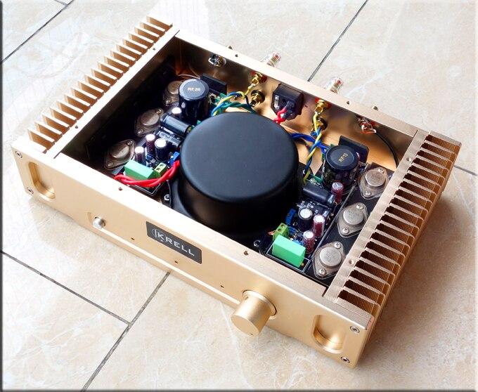 2017 Brezza Audio Voice re Cappuccio 1969 glod sigillato il più perfetta versione del HD1969 classe A amplificatore di potenza 10 W + 10 W