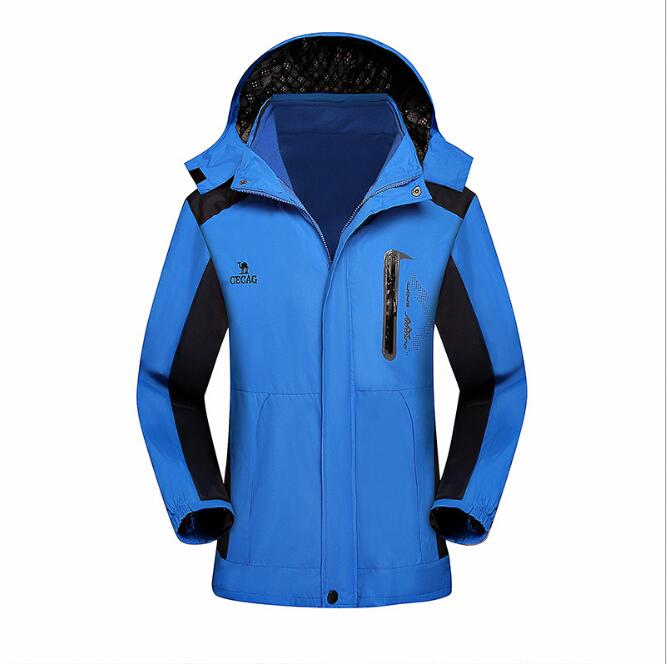 2017 Plus Size Softshell Outdoor Jacket Men Winter Autumn Waterproof Windproof Hiking Jacket Fleece Hooded Mountain Wear Green men winter outdoor jacket autumn hiking
