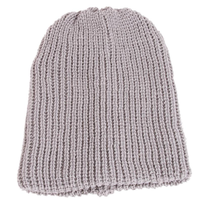 Winter Unisex Knitted Winter Cap Women Men Casual Beanies Skullies Bonnet Knit Hat Solid Color Hip-hop Snap Slouch Gorro Touca women cap skullies