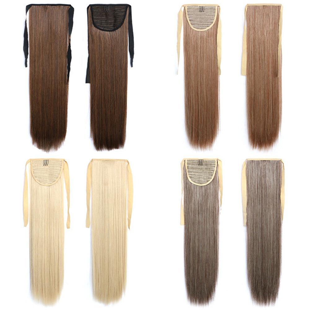 Feibin Галстук на Хвост наращивание - Синтетические волосы - Фотография 5