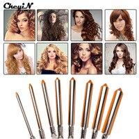 110 240V 09 13 16 19mm Barrel Hair Curling Iron Professional Hair Curler Roller Irons Wand