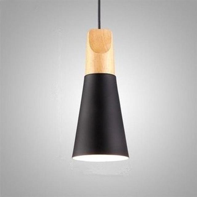 Modern wood pendant lights lamparas colorful aluminum lamp shade modern wood pendant lights lamparas colorful aluminum lamp shade luminaire dining room lights pendant lamp for aloadofball Gallery